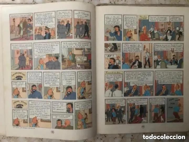 Cómics: LOTE ANTIGUOS CÓMIC TEBEO TINTÍN PRIMERAS SEGUNDAS EDICIONES JUVENTUD - Foto 107 - 182624545