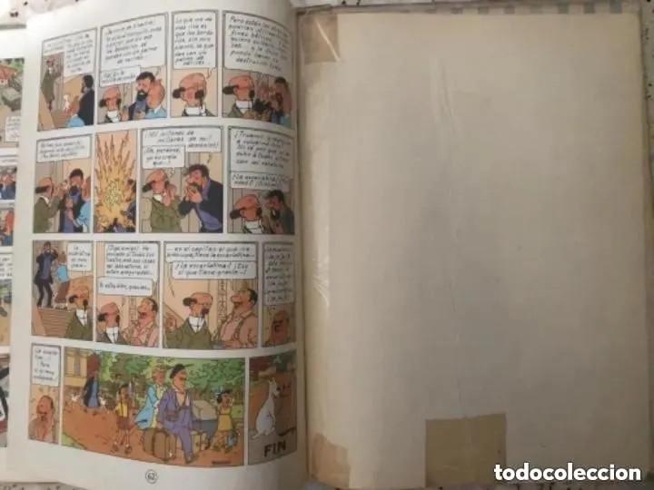 Cómics: LOTE ANTIGUOS CÓMIC TEBEO TINTÍN PRIMERAS SEGUNDAS EDICIONES JUVENTUD - Foto 109 - 182624545