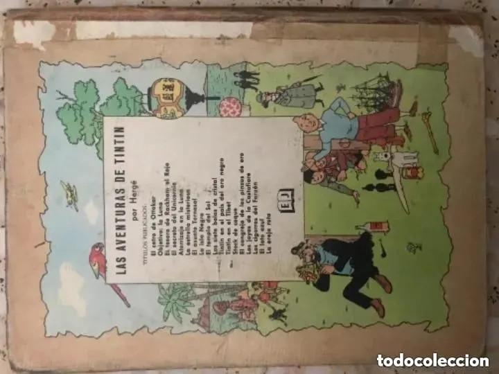 Cómics: LOTE ANTIGUOS CÓMIC TEBEO TINTÍN PRIMERAS SEGUNDAS EDICIONES JUVENTUD - Foto 111 - 182624545