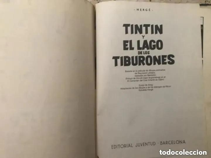 Cómics: LOTE ANTIGUOS CÓMIC TEBEO TINTÍN PRIMERAS SEGUNDAS EDICIONES JUVENTUD - Foto 113 - 182624545