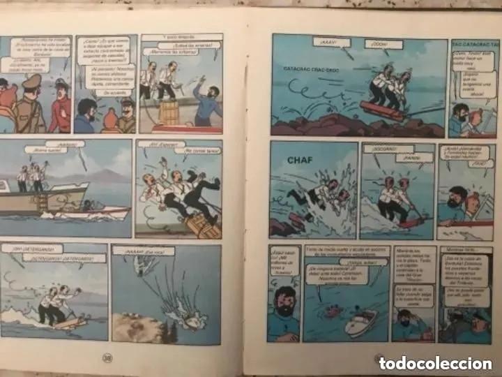 Cómics: LOTE ANTIGUOS CÓMIC TEBEO TINTÍN PRIMERAS SEGUNDAS EDICIONES JUVENTUD - Foto 124 - 182624545
