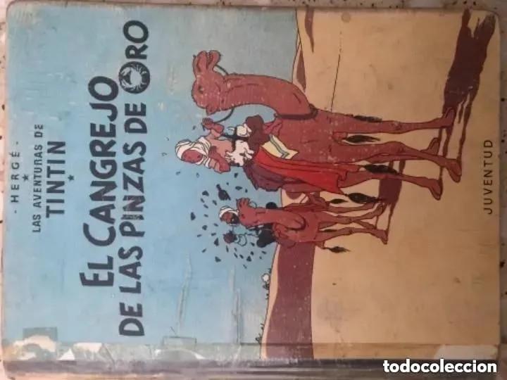 Cómics: LOTE ANTIGUOS CÓMIC TEBEO TINTÍN PRIMERAS SEGUNDAS EDICIONES JUVENTUD - Foto 128 - 182624545