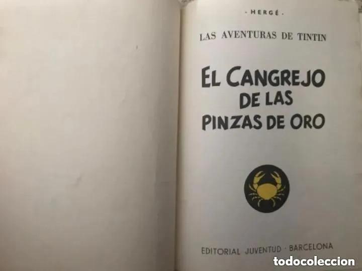Cómics: LOTE ANTIGUOS CÓMIC TEBEO TINTÍN PRIMERAS SEGUNDAS EDICIONES JUVENTUD - Foto 130 - 182624545