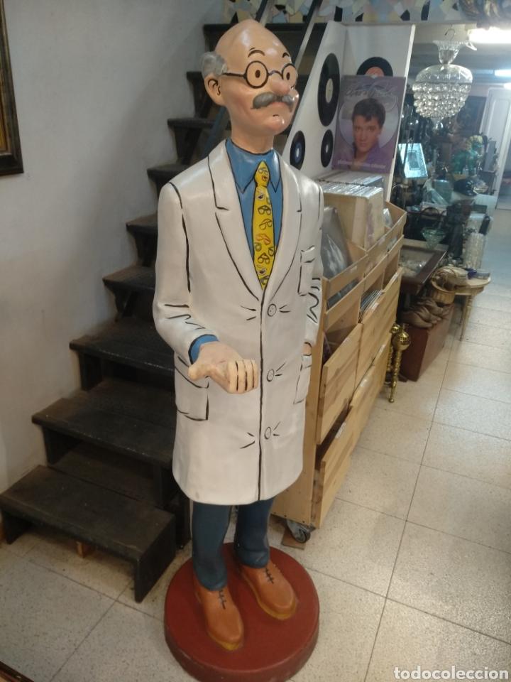 Cómics: Figura del escultor J.Vellé. serie Tín-tín. Tamaño real 170 cm - Foto 4 - 182675965