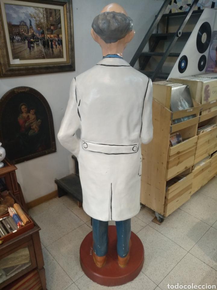 Cómics: Figura del escultor J.Vellé. serie Tín-tín. Tamaño real 170 cm - Foto 5 - 182675965