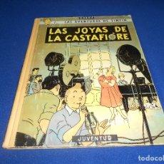 Cómics: LAS AVENTURAS DE TINTIN, LAS JOYAS DE LA CASTAFIORE, HERGE JUVENTUD 2ª EDICION 1963 TAPA DURA. Lote 182700688