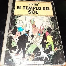 Cómics: LAS AV. DE TINTIN, EL TEMPLO DEL SOL, SEGUNDA EDICION DE 1961, ED. JUVENTUD. Lote 182757301