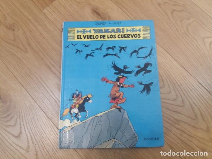 YAKARI. EL VUELO DE LOS CUERVOS. JUVENTUD. N° 14. DERIB Y JOB. 1992. (Tebeos y Comics - Juventud - Yakary)