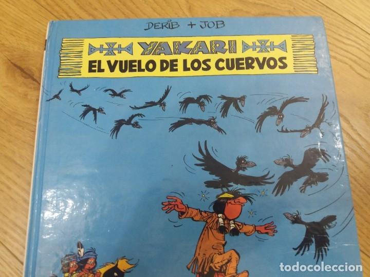 Cómics: Yakari. El vuelo de los cuervos. Juventud. N° 14. Derib y Job. 1992. - Foto 2 - 183090102