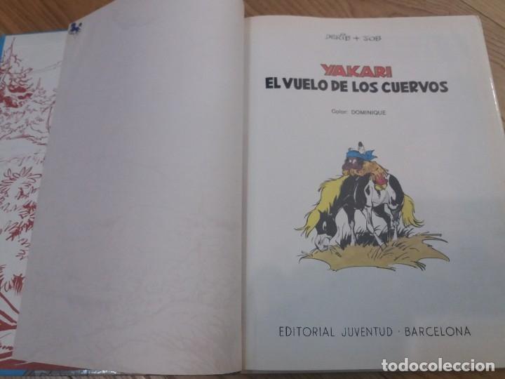 Cómics: Yakari. El vuelo de los cuervos. Juventud. N° 14. Derib y Job. 1992. - Foto 3 - 183090102