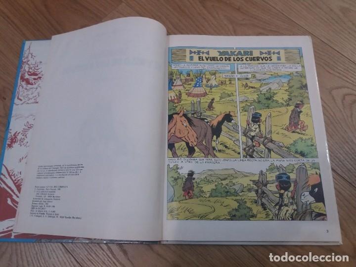Cómics: Yakari. El vuelo de los cuervos. Juventud. N° 14. Derib y Job. 1992. - Foto 4 - 183090102