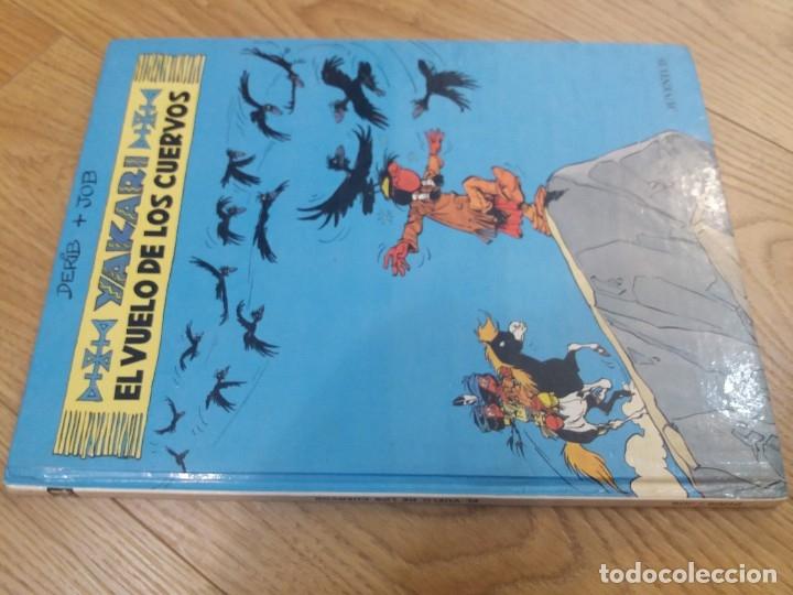 Cómics: Yakari. El vuelo de los cuervos. Juventud. N° 14. Derib y Job. 1992. - Foto 6 - 183090102