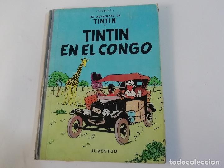 TINTÍN EN EL CONGO - PRIMERA EDICIÓN - 1968 (Tebeos y Comics - Juventud - Tintín)