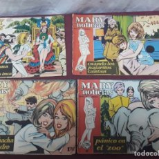 Comics : MARY NOTICIAS (1962).. REVISTA JUVENIL FEMENINA. NUMEROS 43, 63, 68 Y 110. Lote 183292247
