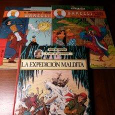 Cómics: LOTE BOB DE MOOR: ENIGMÁTICO SEÑOR BARELLI, BARELLI EN NUSA PENIDA Y LA EXPEDICIÓN MALDITA. Lote 183505888