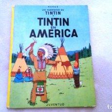 Cómics: TINTIN EN AMERICA AÑO 1984. Lote 184091760