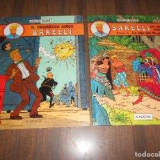Cómics: BARELLI. TOMOS 1 Y 2. Lote 184248117