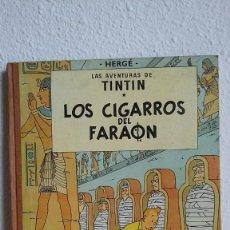 Cómics: LAS AVENTURAS DE TINTÍN. LOS CIGARROS DEL FARAÓN. HERGÉ. EDITORIAL JUVENTUD. SEGUNDA EDICIÓN, 1965. Lote 184330347