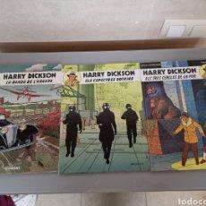 Cómics: 3X HARRY DICKSON JOVENTUT 1989-91 COMPLETA EXCELENTE. Lote 184357858