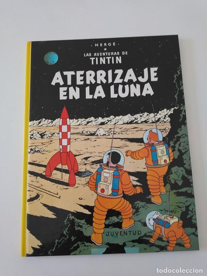 TINTÍN ATERRIZAJE EN LA LUNA TAPA DURA EDITORIAL JUVENTUD 1990 (Tebeos y Comics - Juventud - Tintín)