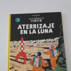 Cómics: TINTÍN ATERRIZAJE EN LA LUNA TAPA DURA EDITORIAL JUVENTUD 1990. Lote 184608392