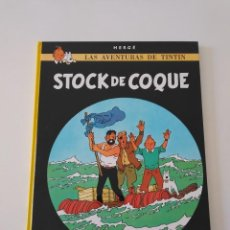 Comics : TINTÍN STOCK DE COQUE TAPA DURA EDITORIAL JUVENTUD 1990. Lote 184611217