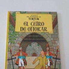 Comics : TINTÍN EL CETRO DE OTTOKAR TAPA DURA EDITORIAL JUVENTUD 1991. Lote 184612692