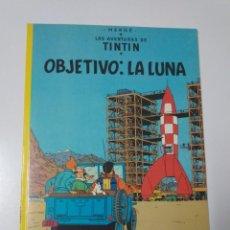 Comics : TINTÍN OBJETIVO LA LUNA TAPA BLANDA EDITORIAL JUVENTUD 1996. Lote 184648326