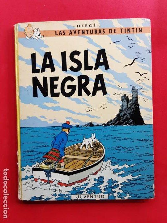 TINTIN -LA ISLA NEGRA-6ª EDICIÓN-1979- (Tebeos y Comics - Juventud - Tintín)