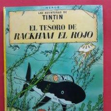 Cómics: TINTIN -EL TESORO DE RACKHAM EL ROJO-6ª EDICION-1976. Lote 184712522