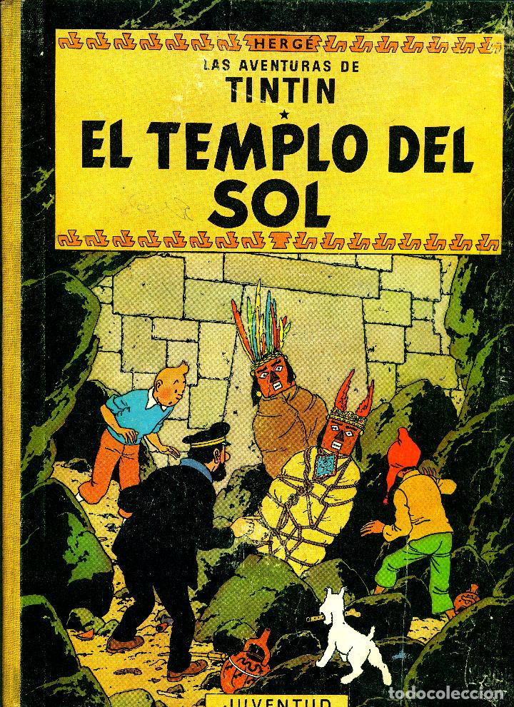 TINTIN: EL TEMPLO DEL SOL (JUVENTUD, 1961) DE HERGÉ. 1ª EDICIÓN (Tebeos y Comics - Juventud - Tintín)