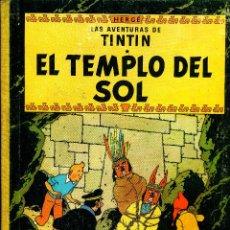 Cómics: TINTIN: EL TEMPLO DEL SOL (JUVENTUD, 1961) DE HERGÉ. 1ª EDICIÓN. Lote 184816838