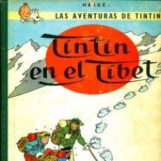 Cómics: TINTIN: TINTIN EN EL TIBET (JUVENTUD, 1962) DE HERGÉ. 1ª EDICIÓN. Lote 184817012