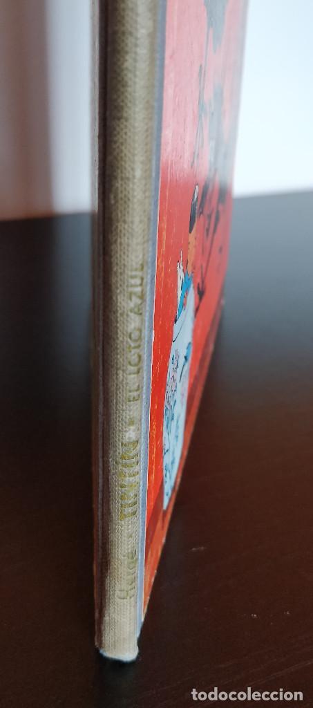 Cómics: **MUY BUEN ESTADO** PRIMERA EDICIÓN TINTIN El Loto Azul. Lomo tela azul. JUVENTUD 1965 - Foto 3 - 184856452