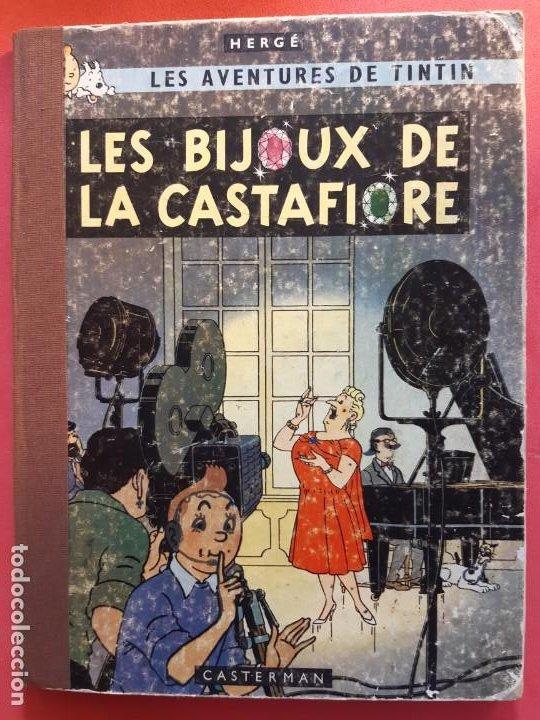HERGE - TINTIN - BIJOUX DE LA CASTAFIORE - CASTERMAN 1963 (Tebeos y Comics - Juventud - Tintín)