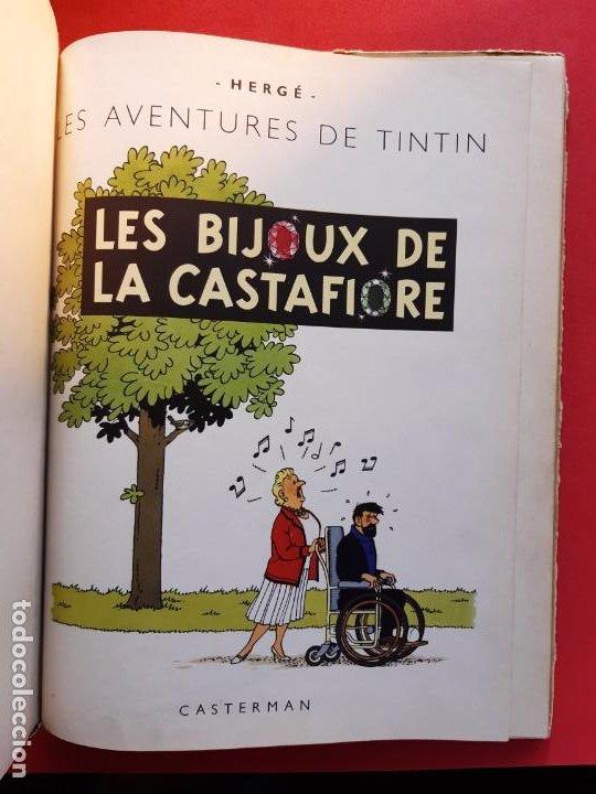 Cómics: HERGE - TINTIN - BIJOUX DE LA CASTAFIORE - CASTERMAN 1963 - Foto 2 - 185716801