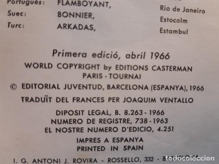 Cómics: HERGE EL CRANC DE LES PINCES D´OR 1ª EDICIÓN 1966 EN CATALÁN - Foto 2 - 185719416