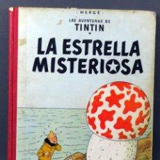 Cómics: TINTÍN LA ESTRELLA MISTERIOSA HERGÉ EDITORIAL JUVENTUD 1967 3ª EDICIÓN. Lote 185891498