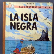 Cómics: TINTÍN LA ISLA NEGRA HERGÉ EDITORIAL JUVENTUD 1969 3ª EDICIÓN. Lote 185891986