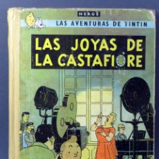 Cómics: TINTÍN LAS JOYAS DE LA CASTAFIORE HERGÉ EDITORIAL JUVENTUD 1965 2ª EDICIÓN. Lote 185894055