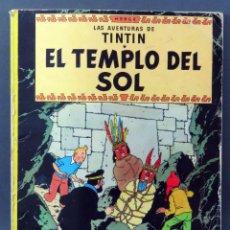 Cómics: TINTÍN EL TEMPLO DEL SOL HERGÉ EDITORIAL JUVENTUD 1975 TAPA BLANDA. Lote 185894905