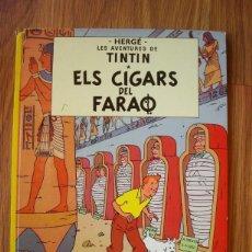 Cómics: ELS CIGARS DEL FARAÓ (LES AVENTURES DE TINTIN) . Lote 186072331