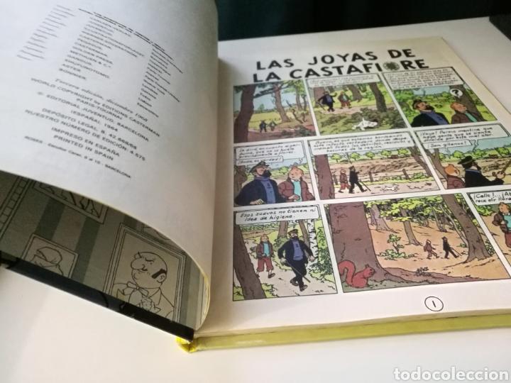 Cómics: Tintín -Las joyas de la Castafiore. 3a edición 1968 .NO lomo de tela.Raro.Muy buen estado.Ver fotos. - Foto 2 - 186081076