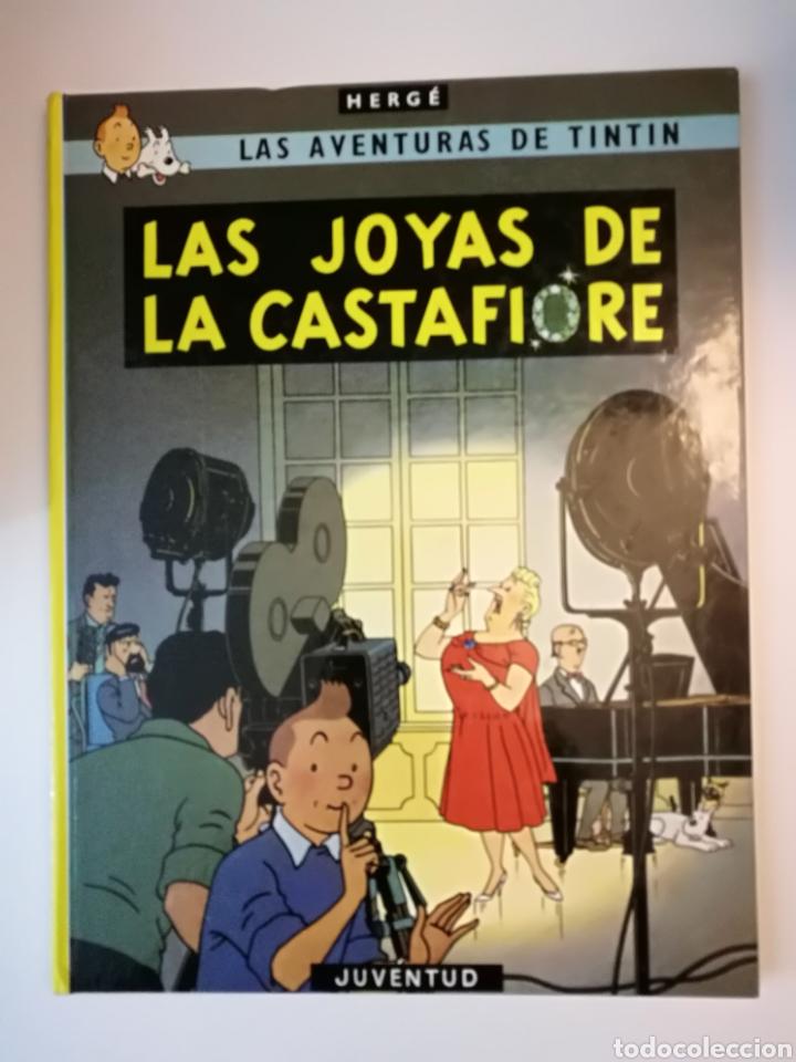 Cómics: Tintín -Las joyas de la Castafiore. 3a edición 1968 .NO lomo de tela.Raro.Muy buen estado.Ver fotos. - Foto 3 - 186081076