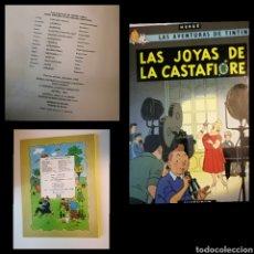Cómics: TINTÍN -LAS JOYAS DE LA CASTAFIORE. 3A EDICIÓN 1968 .NO LOMO DE TELA.RARO.MUY BUEN ESTADO.VER FOTOS.. Lote 186081076