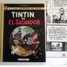 Cómics: TINTÍN EN EL SALVADOR - CÓMIC RARO - PASTANAGA ( NO JUVENTUD ) W VANDERSTEEN MARTIN LODEWIJK AÑOS 80. Lote 186219862