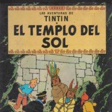 Cómics: TINTÍN Y EL TEMPLO DEL SOL. Lote 186243390