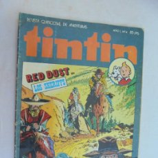 Cómics: TINTIN , REVISTA QUINCENAL Nº 4 - EDITA : BRUGUERA 1981. . Lote 186249192