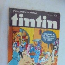 Cómics: TINTIN , REVISTA QUINCENAL Nº 7 - EDITA : BRUGUERA 1981.. Lote 186249460