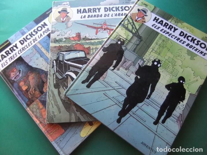 HARRY DICKSON TRES TOMOS COMPLETA JUBENTUD (Tebeos y Comics - Juventud - Otros)